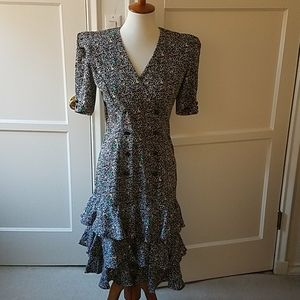 All That Jazz vintage 1990's tiered dress